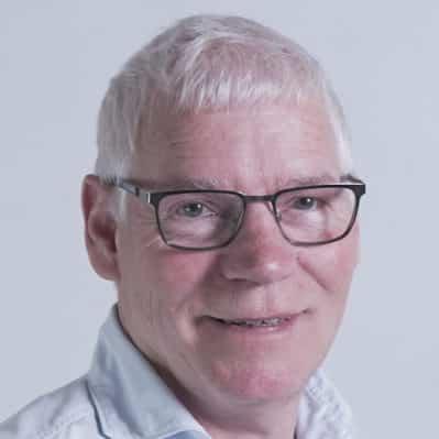 Et billede af en mand ved navn John Hansen som arbejder hos A10